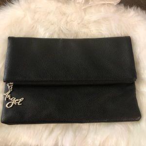 Victoria's Secret Black fold clutch
